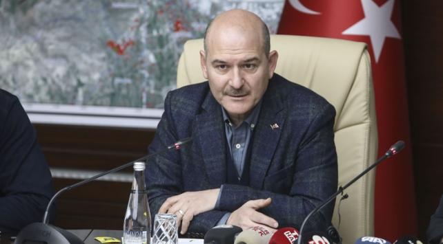 Bakan Süleyman Soylu, bir mesaj yayımlayarak istifa ettiğini açıkladı