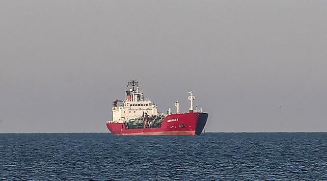 İstanbul Yeşilköy açıklarında gemiye ceza kesildi