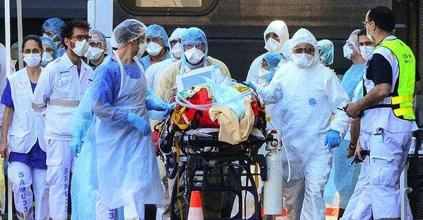 Fransa'da ölümcül koronavirüsten ölenler artıyor