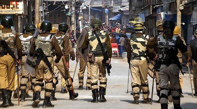 Hindistan'ın Cammu Keşmir bölgesinde Çatışmada 7 ölü
