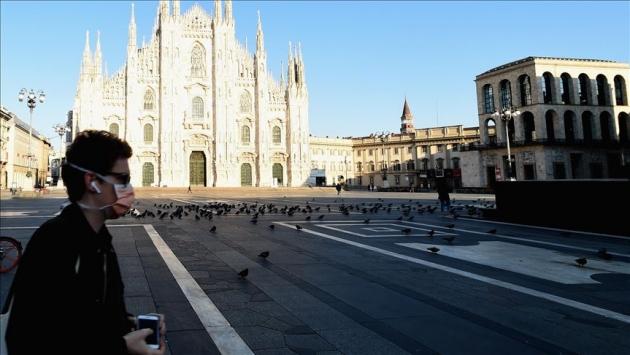 İtalya'da  Ölenlerin sayısı 33 bin 415'e yükseldi