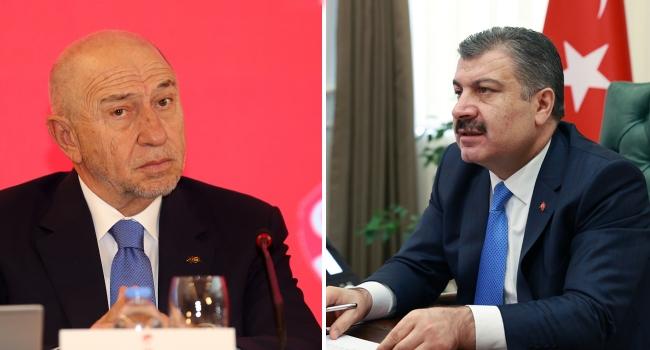 TFF Başkanı Özdemir, bu kez Sağlık Bakanı Koca ile buluşacak
