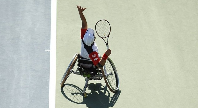 tekerlekli sandalye tenisine 300 bin dolar bağış