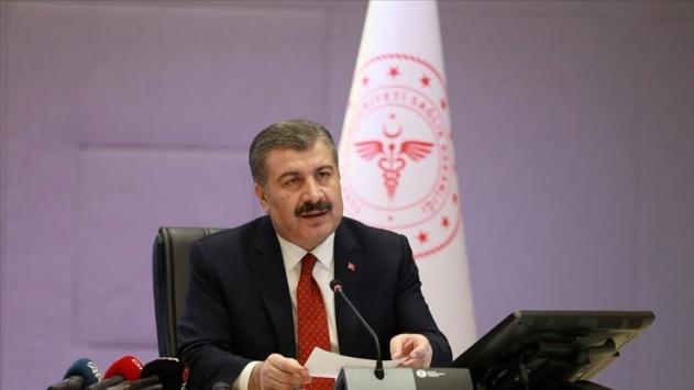 """Bakan Koca, Günlük Koronavirüs Tablosu""""nu Paylaştı"""