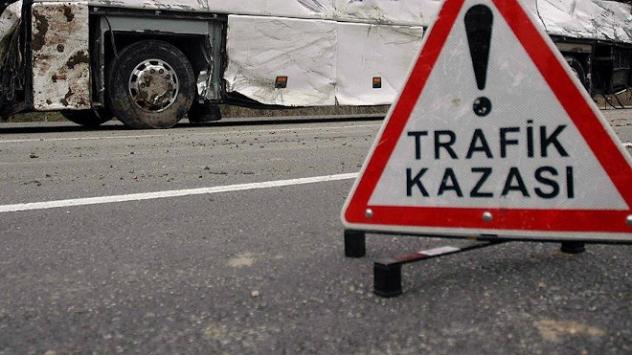 Erzincan'da kaza, 19 kişi yaralı