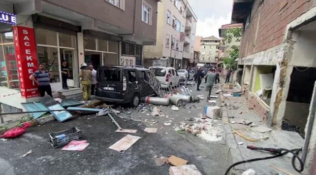 Beyoğlu Okmeydanı'nda bir iş yerinde patlama