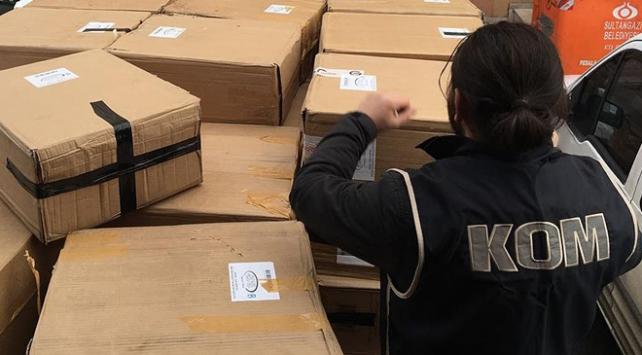 22 bin 201 şişe kaçak parfüm ele geçirildi