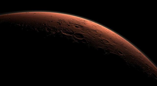 Mars'ın atmosferinden yeşil ışık yayıldığını keşfetti