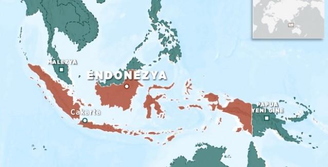 Endonezya'da 5,5 büyüklüğünde deprem oldu