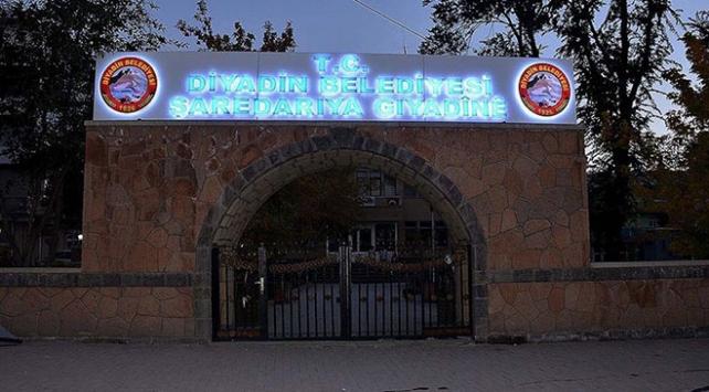 HDP'li Diyadin Belediye Başkanı Yaşar'a terörden gözaltı