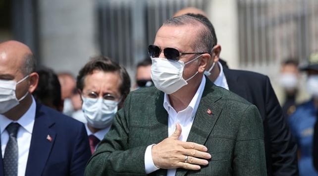 Cumhurbaşkanı Erdoğan'dan Taksim Camii ile AKM'de inceleme