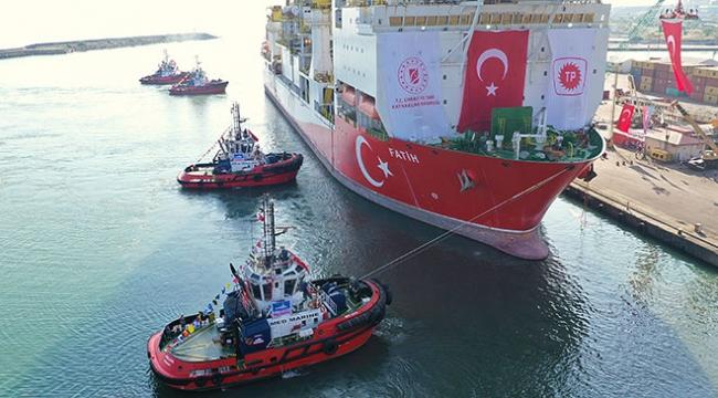 Bakan Dönmez, yerli sondaj gemisi Fatih ile ilgili açıklama yaptı