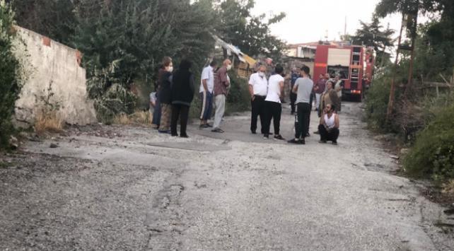 Ankara'nın Mamak ilçesinde Yangında 1 ölü .1 yaralı