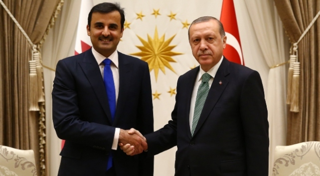 Cumhurbaşkanı Erdoğan, Katar Sani ile telefon görüşmesi gerçekleştirdi