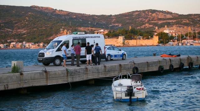 Foça ilçesinde tekne battı 2'si çocuk 4 kişi öldü
