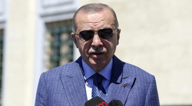 Cumhurbaşkanı Erdoğan: Soydaşlarımızı yalnız bırakmayız