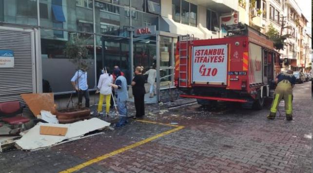 Gaziosmanpaşa'da hastane tavanı çöktü: 1 yaralı
