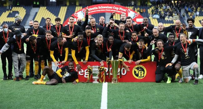 Young Boys, 33 yıl aradan sonra İsviçre Kupası'nın sahibi oldu