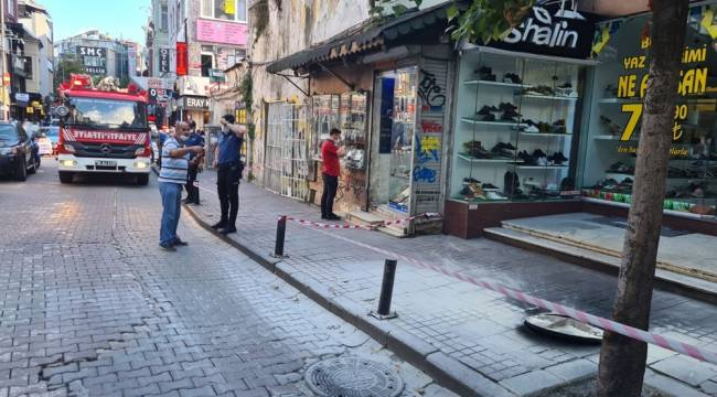 Beşiktaş'ta korkutan patlama