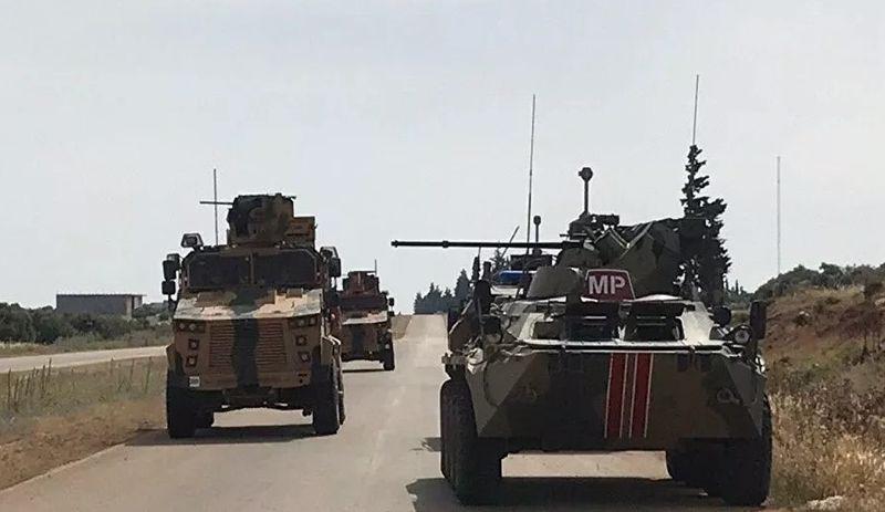 İdlib'de kara devriyesine saldırı