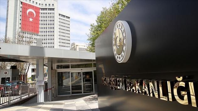 Dışişleri Bakanlığından Alman Die Welt gazetesi ve Yunanistan'a tepki