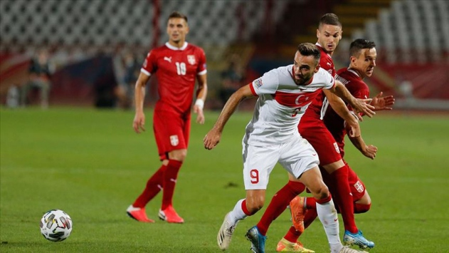 Türkiye ile Sırbistan 0-0 berabere kaldı