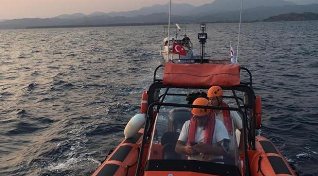 Fethiye açıklarında tekne sürüklendi: 5 kişi kurtarıldı