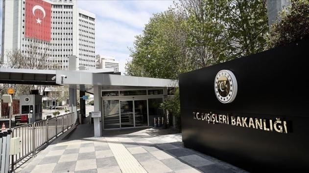 Dışişleri Bakanlığı: Tatar Türk toplumunun baskı altına alınması esef verici