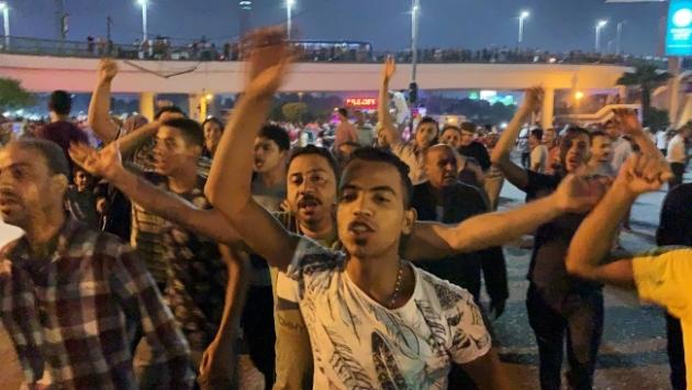 Mısır'da Sisi karşıtı gösteriler devam ediyor