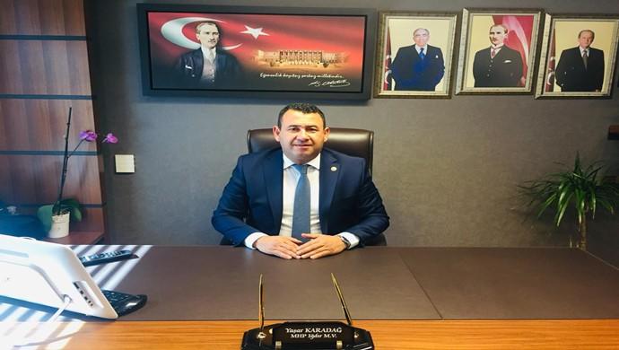 Milletvekili Karadağ, Azerbaycan'ın yanındayız. Karabağ Türk'ündür, Türk Vatanıdır, Türk Toprağıdır