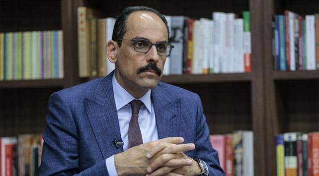 Cumhurbaşkanlığı Sözcüsü İbrahim Kalın'dan Doğu Akdeniz açıklaması