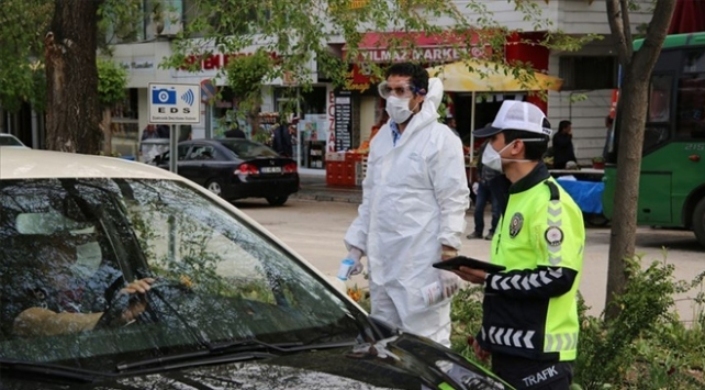 Gaziantep'te tedbirlere uymayan bin 154 kişiye ceza