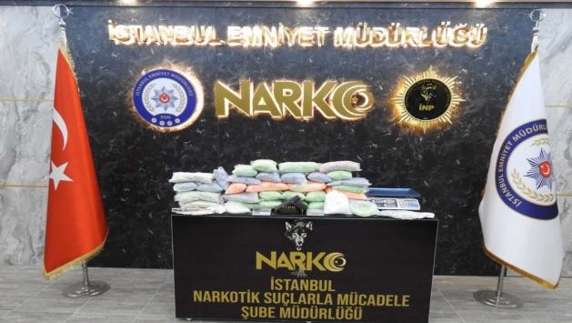 İstanbul'da 150 bin uyuşturucu hap ele geçirildi