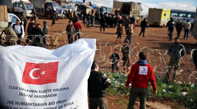 Türkiye'den ihtiyaç sahibi ülkelere un ve bakliyat yardımı