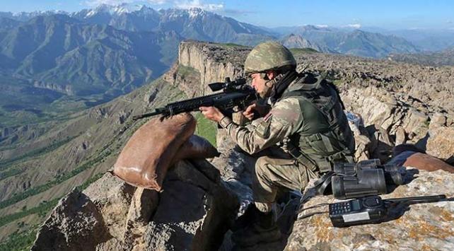 Barış Pınarı bölgesine ateş açan 9 terörist etkisiz hale getirildi
