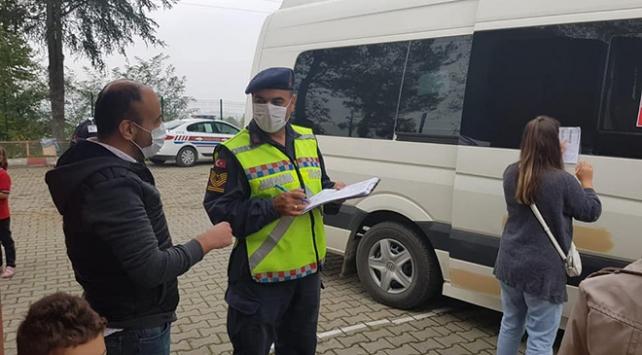 Zonguldak'ta tedbirlere uymayan 5 kişiye 4 bin 648 lira ceza