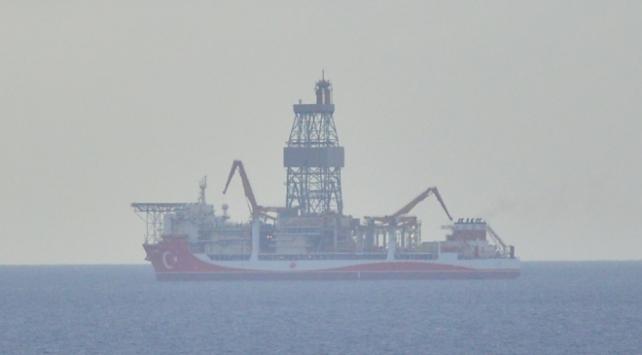 Kanuni sondaj gemisi Çanakkale açıklarına demirledi