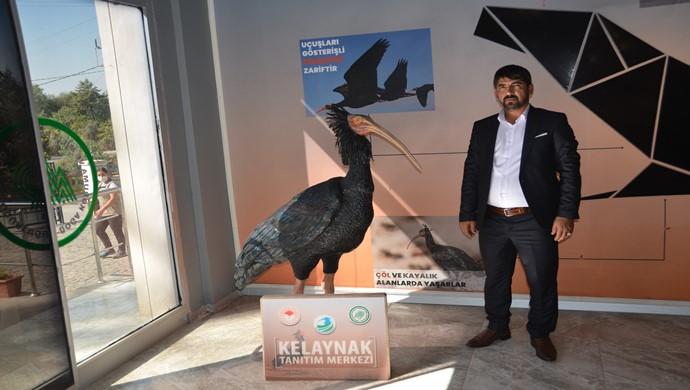 Aziz Akkuş `tan  Kelaynak kuşlarına Ziyaret