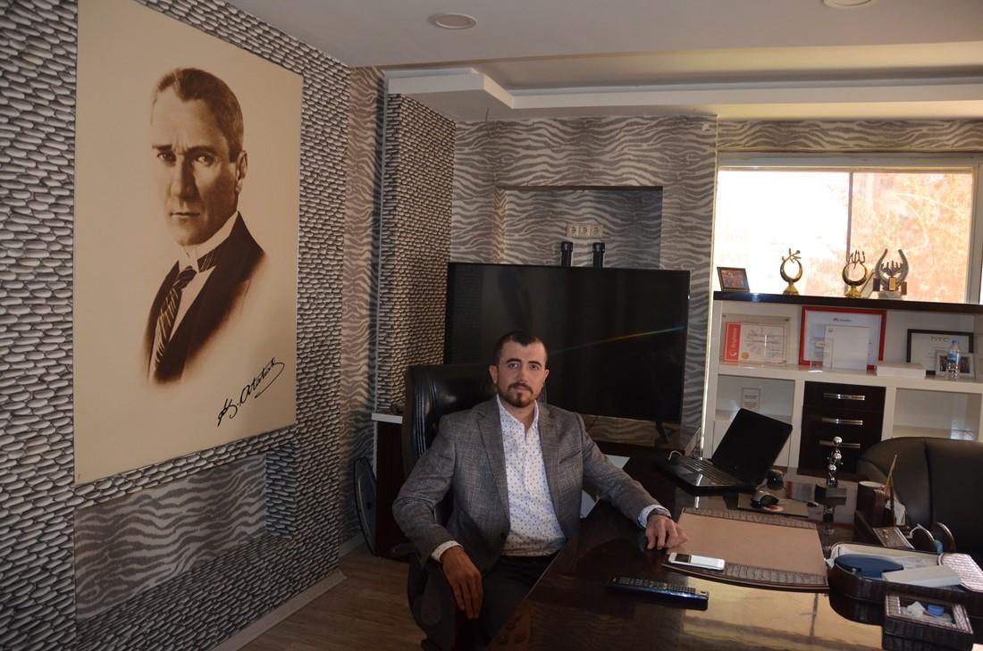 Başkan Şerif Özdemir `den 21 Ekim Dünya Gazeteciler Günü mesajı