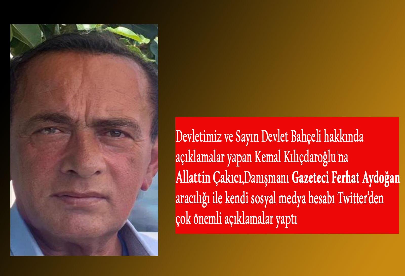 Alaatin Çakıcı'dan Kılıçdaroğlu'na cevap!