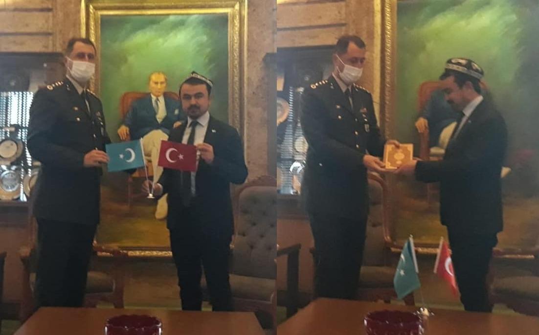Doğu Türkistan Cumhurbaşkanı Abduvali Buğrahan Osman!