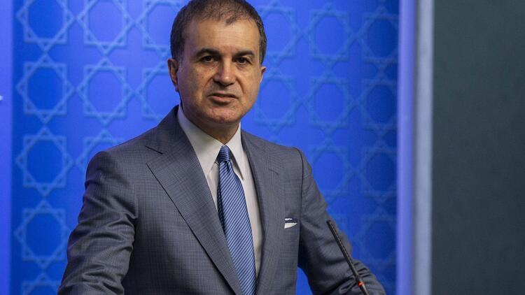 Akparti Sözcüsü Ömer Çelik'ten tepki!