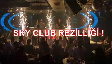 İstanbul'da bir kulüp kuralları hiçe saydı! İşte gizli parti görüntüleri