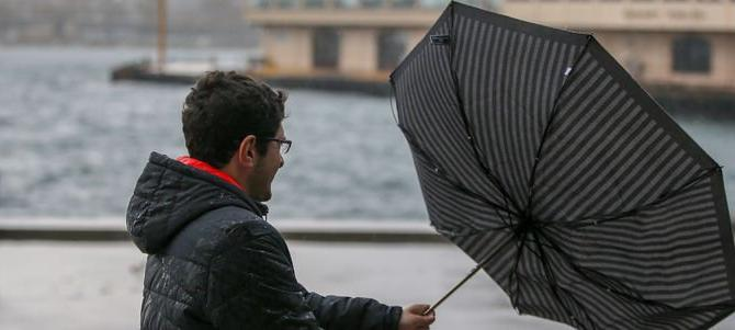 Meteoroloji'den İstanbul için fırtına uyarısı!