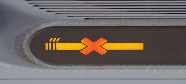 Uçakta sigara içen yolcuya ceza!