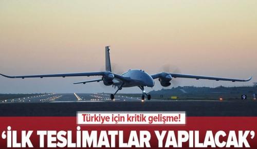Savunma Sanayi Başkanı İsmail Demir güzel haberi verdi: 2021'de Akıncı TİHA'da ilk teslimatlar yapılacak.