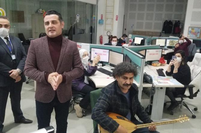 Manisa Vali Yardımcısı Mevlüt Özmen'den Sağlık Çalışanlarına Büyük Sürpriz
