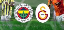 Fenerbahçe – Galatasaray maçı   CANLI YAYIN