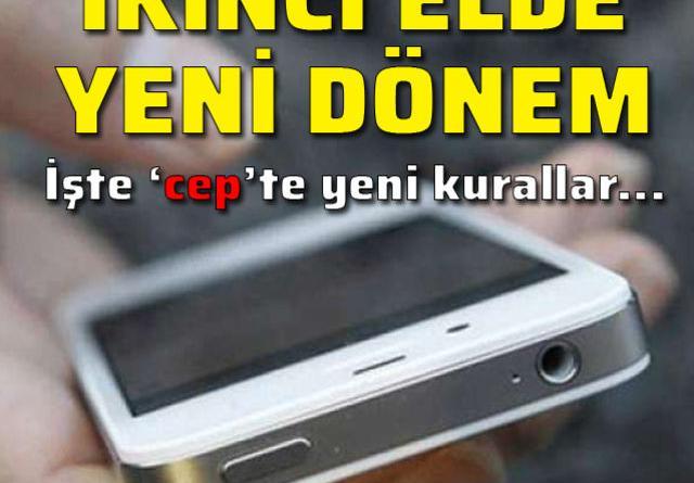 İkinci el cep telefonunda yenileme nasıl yapılacak?
