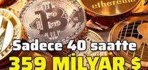 Bitcoin öncülüğünde büyük düşüş devam ediyor